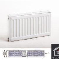 Радиатор PRADO стальной панельный 22*500*1000 боковое ТИП 22