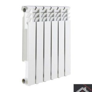 Радиатор алюминиевый ROMMER Optima 78/500/8 секций