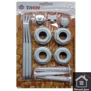 Комплект для радиатора 1*1/2 с 3 кронштейнами RK-807 TAEN (40)