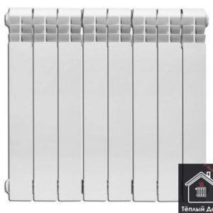 Радиатор KONNER LUX алюминиевый 500/100 8 секций гарантия 15лет