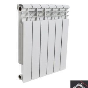Радиатор алюминиевый ROMMER Profi 80/500/12 секций
